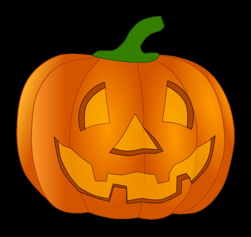 800x753 Vector Clipart Pumpkin