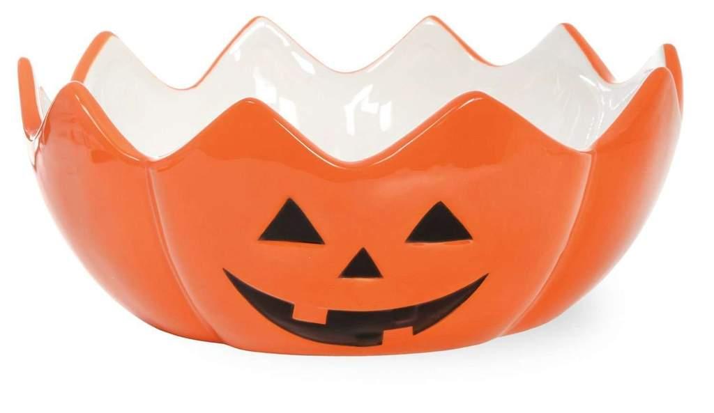 1024x593 Halloween Pumpkin Jack O' Lantern Bowl Adley Amp Company Inc.