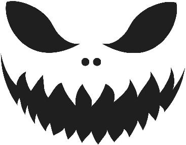 367x285 Jack O Lantern Mouth Clipart