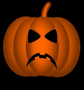 282x299 Pumpkin Clipart Sad