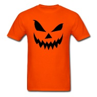 190x190 Scary Jack O' Lantern T Shirt Spreadshirt