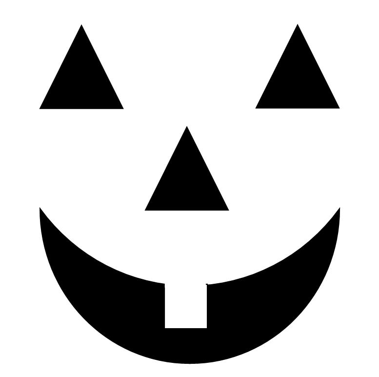 Jack O Lantern Faces Graphic