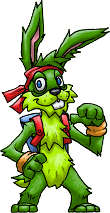 218x420 Jazz Jackrabbit (Jazz Jackrabbit) By Hologramzx