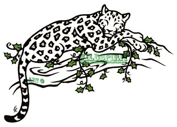 600x431 42 Best Tattoo Drawings Of Jaguars Images Design
