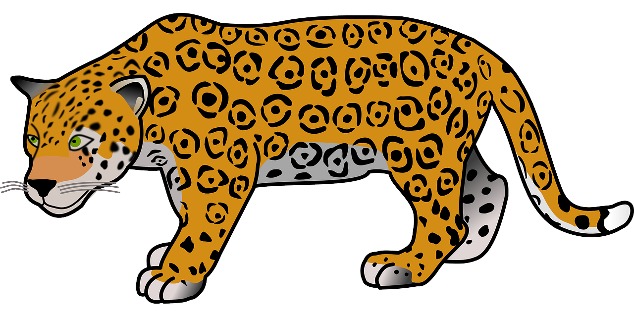 1280x640 Adorable Clipart Jaguar