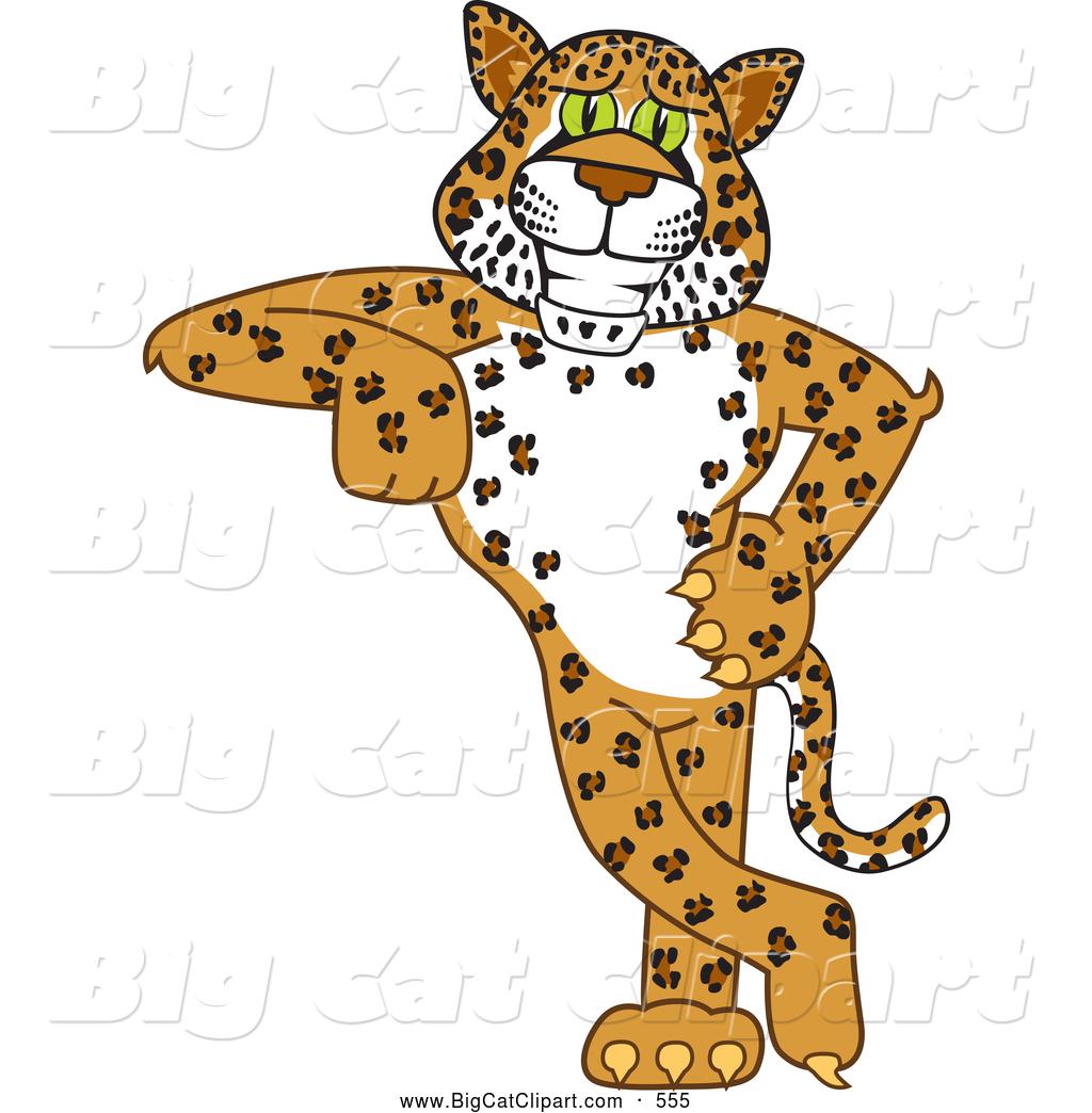 1024x1044 Big Cat Cartoon Vector Clipart Of A Cute Cheetah, Jaguar
