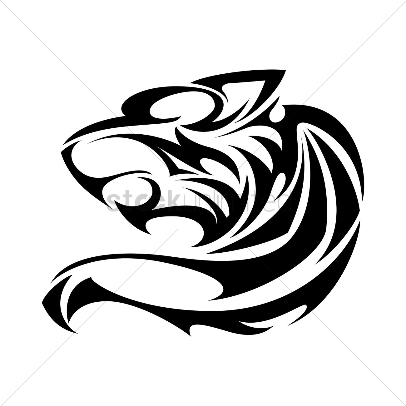 1300x1300 Jaguar Tattoo Vector Image