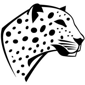 300x300 Leopard Vector Image