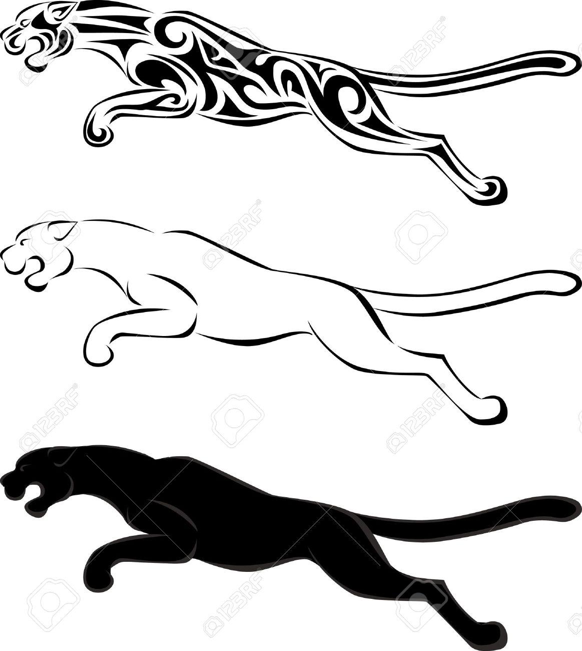 1163x1300 Puma Clipart Black Baby