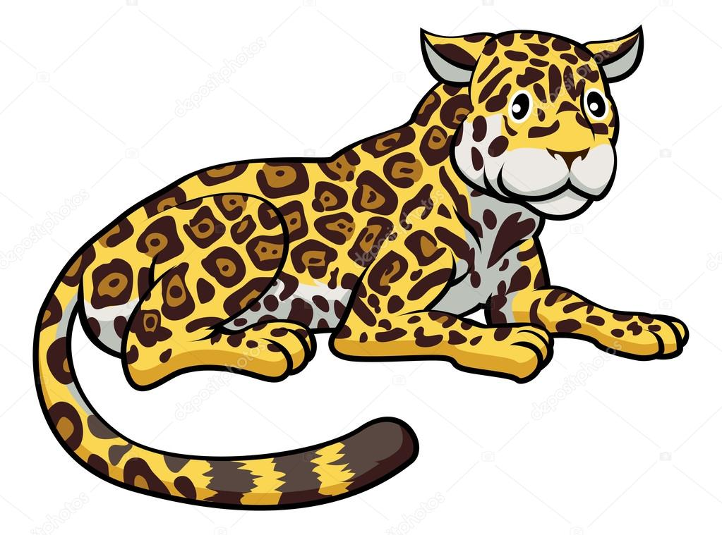 1023x759 Cartoon Jaguar Cat Stock Vector Krisdog