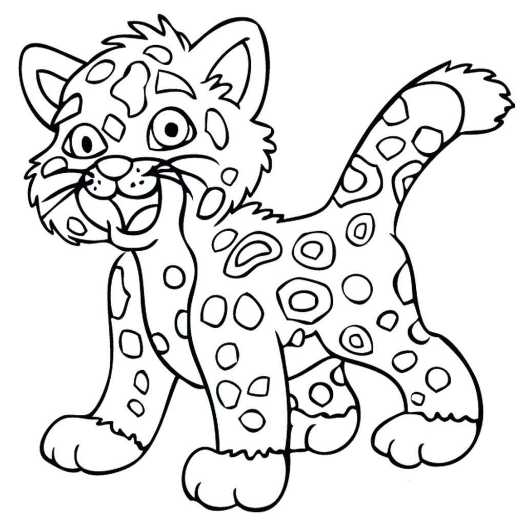 Jaguar Coloring Pages | Free download on ClipArtMag
