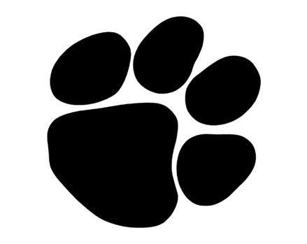 439x349 Paw Print Free Download Clip Art Free Clip Art On Clipart