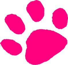 236x228 Panther Paw Print Clip Art