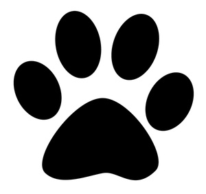 300x282 Paw Print Clip Art Black And White Many Interesting Cliparts