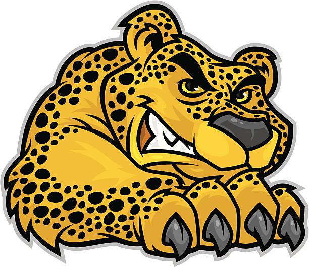 612x530 Jaguar Clipart Mascot
