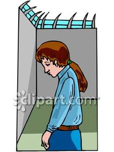 225x300 In Prison Royalty Free Clipart Picture