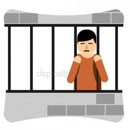 450x450 Man In Jail Stock Vectors, Royalty Free Man In Jail Illustrations