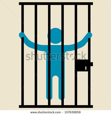 450x470 Prison Clipart Person
