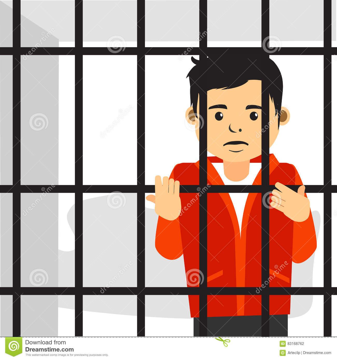 1300x1388 Prison Clipart Sad