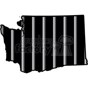 300x300 Royalty Free Prison Washington Jail Bars Tattoo Design 394803