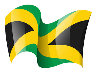 320x240 Free Jamaican Maroon Tribe Flag Clipart Collection