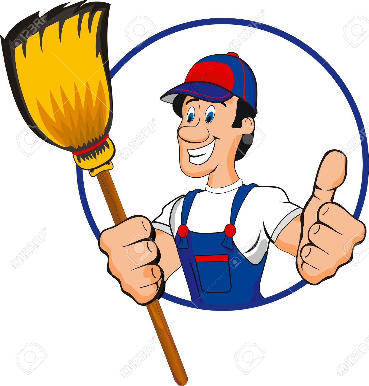 Janitorial Clipart