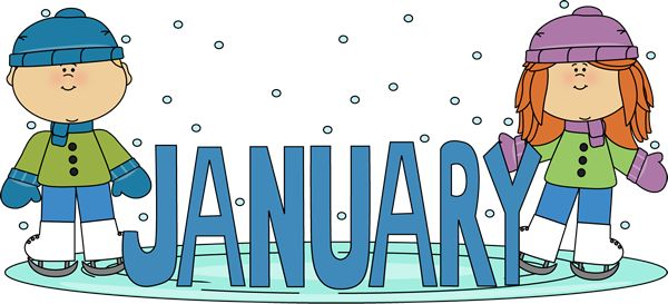 600x273 Hello January Clip Art Free Cliparts For You