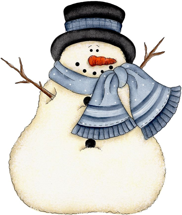 736x870 January 6 Snowmen Images On Clip Art