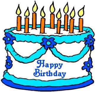 325x309 Free Clipart Birthday January