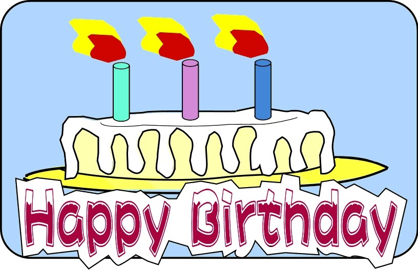 816x528 February Birthday Clipart