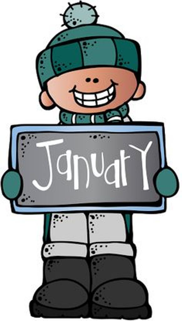 582x1024 January Clip Art Free Design And Templates