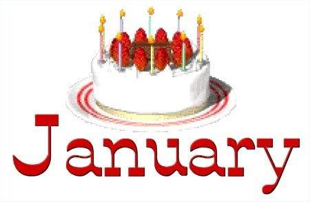 450x293 January Birthday Cake Clip Art