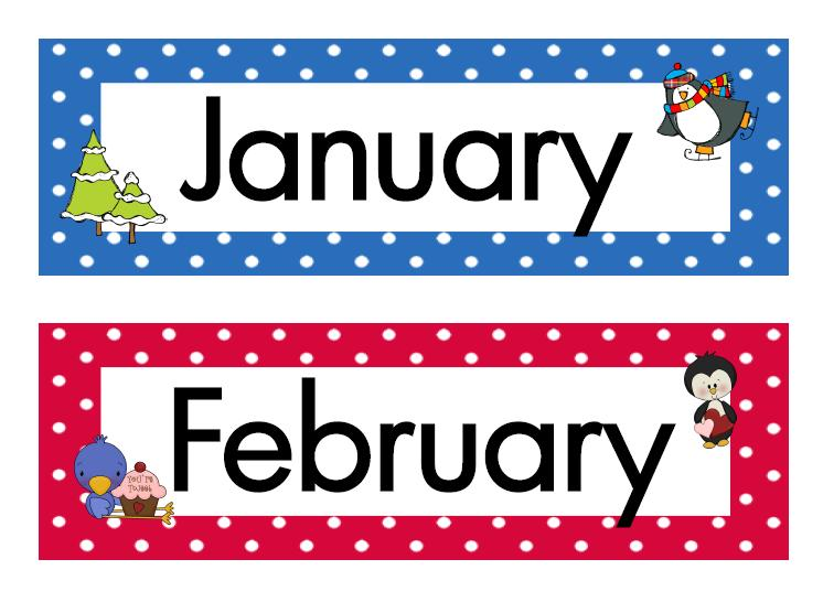 746x556 Month Of The Year Clipart