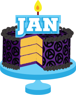 246x309 Cake Clipart January