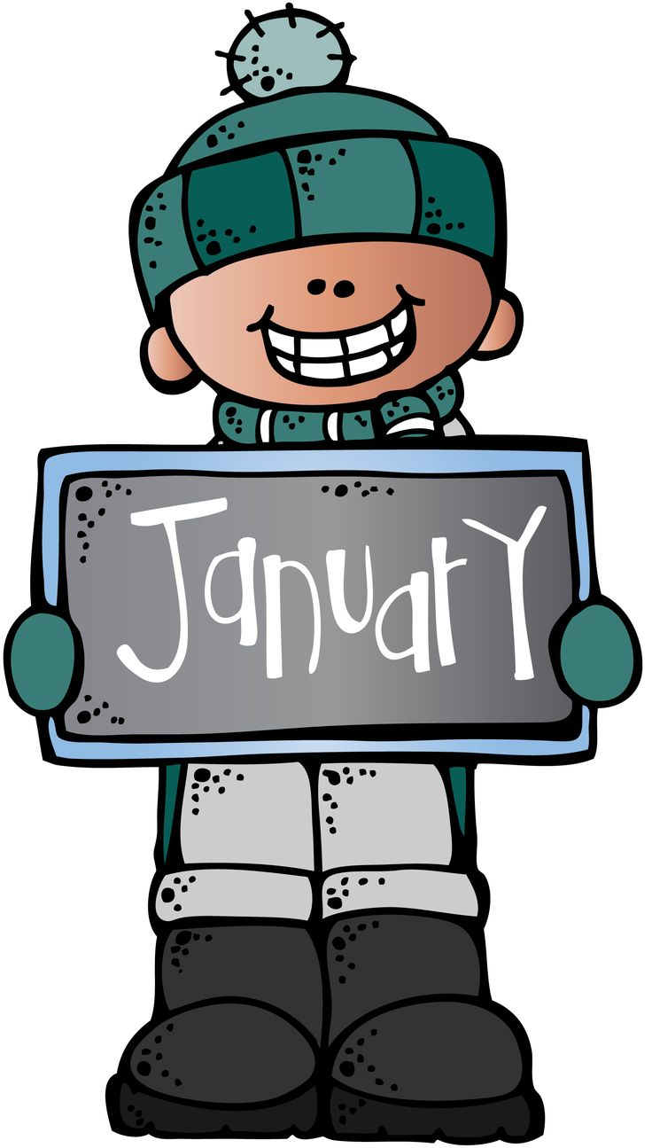 January Calendar Clipart