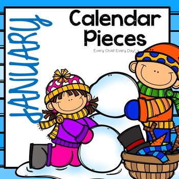 350x350 January Calendar Pieces By Every Child Every Day Tpt