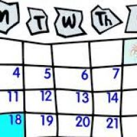 200x200 January Clipart For Calendars
