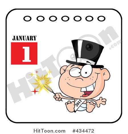 450x470 Calendar Clipart