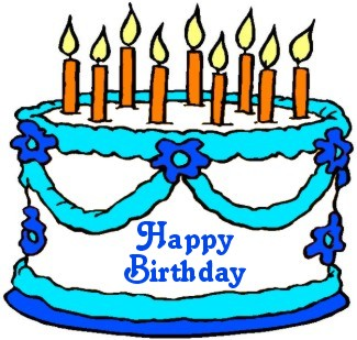 325x309 January Birthday Cake Clip Art