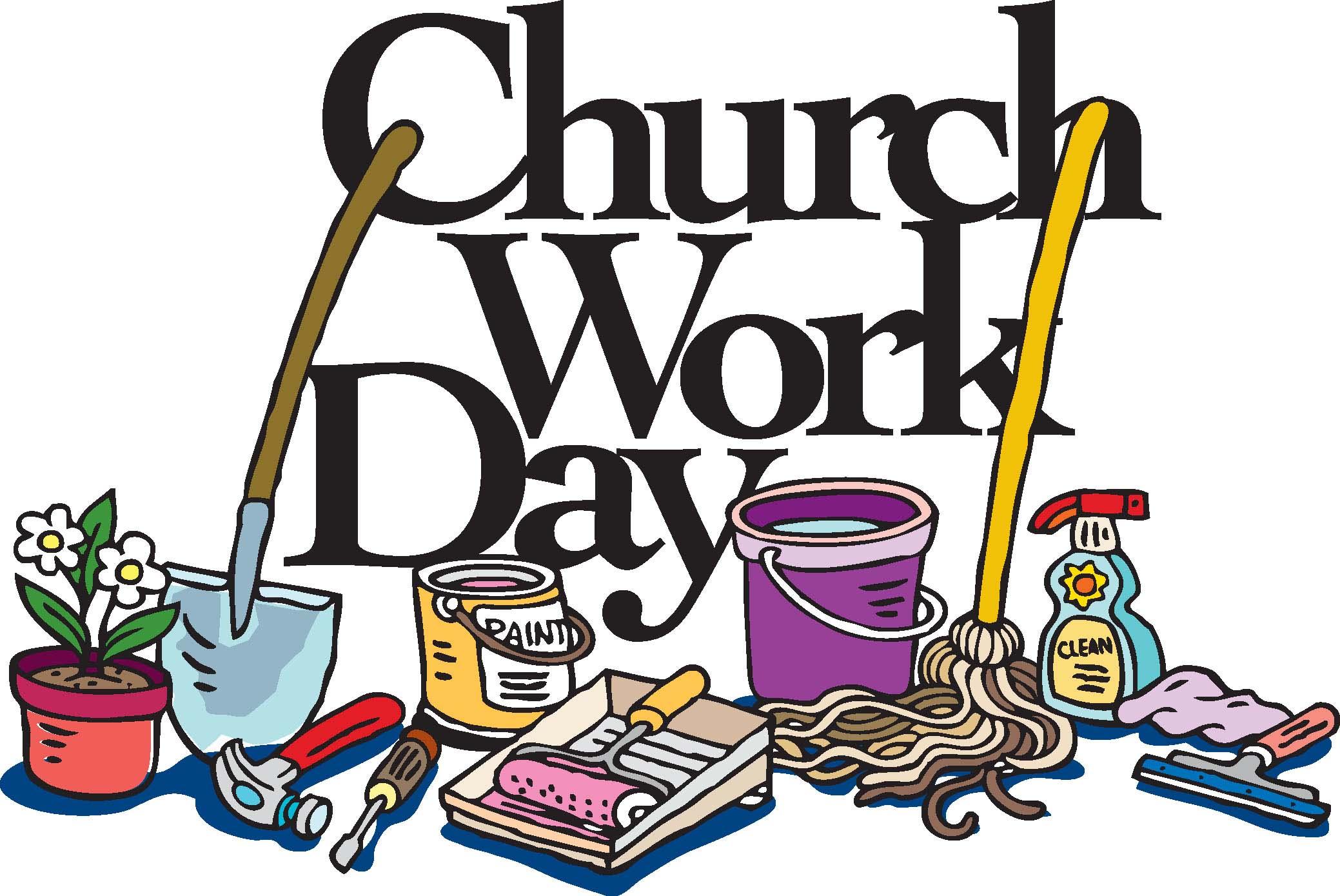 2078x1389 Church Work Day This Saturday, January 25, 2014