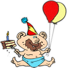 219x222 Free Birthday Clipart
