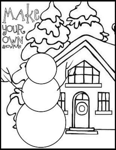 400x518 Winter Coloring Pages Preschool Winter Coloring Pages