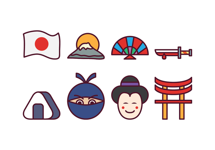 700x490 Japan Clipart Vector