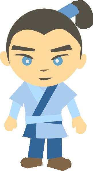 324x591 Japanese Character Clip Art