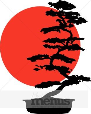 310x388 Bonsai Clipart Japanese Menu Clipart