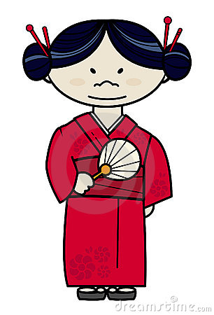 306x450 Japan Clipart Japanese Woman