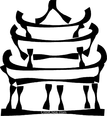 443x480 Japanese Clipart Japanese Temple
