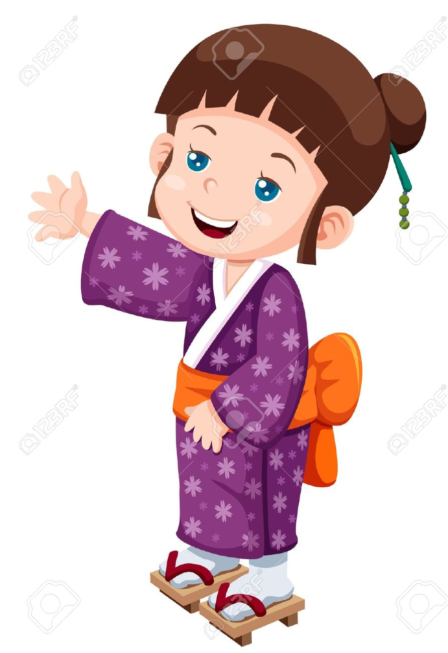 893x1300 Japanese Cartoon Clipart