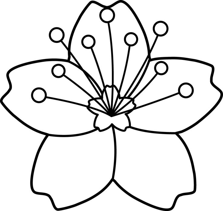 Japanese Flower Clipart