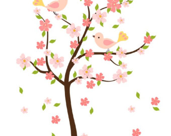 340x270 Cherry Blossom Tree Clip Art Clipart Panda